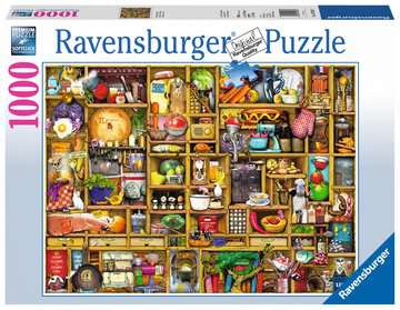 Kitchen Cupboard Jigsaw Puzzles;Adult Puzzles - image 1 - Ravensburger