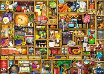 Kitchen Cupboard Jigsaw Puzzles;Adult Puzzles - image 2 - Ravensburger