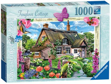 Country Cottage Collection - Foxglove Cottage, 1000pc Puzzles;Adult Puzzles - image 1 - Ravensburger