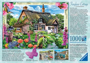 Country Cottage Collection - Foxglove Cottage, 1000pc Puzzles;Adult Puzzles - image 3 - Ravensburger