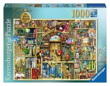 DZIWNA KSIĘGARNIA  C.THOMPSON 1000 Puzzle;Puzzle dla dorosłych - Zdjęcie 1 - Ravensburger