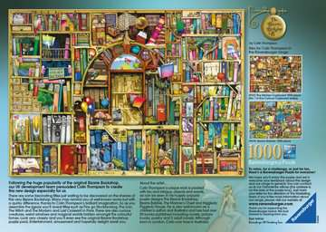 DZIWNA KSIĘGARNIA  C.THOMPSON 1000 Puzzle;Puzzle dla dorosłych - Zdjęcie 2 - Ravensburger