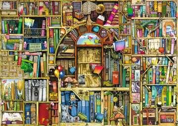 DZIWNA KSIĘGARNIA  C.THOMPSON 1000 Puzzle;Puzzle dla dorosłych - Zdjęcie 3 - Ravensburger