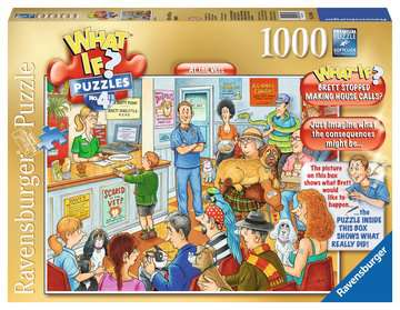 What If? At the Vets, 1000pc Puzzles;Adult Puzzles - image 1 - Ravensburger