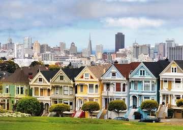 Painted Ladies, San Francisco Puzzle;Erwachsenenpuzzle - Bild 3 - Ravensburger