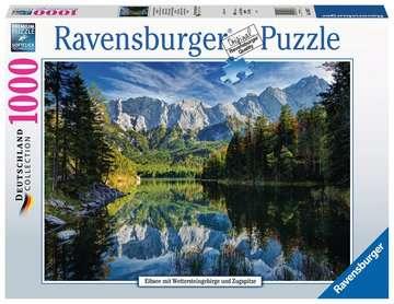 Eibsee mit Wettersteingebirge und Zugspitze Puzzle;Erwachsenenpuzzle - Bild 1 - Ravensburger