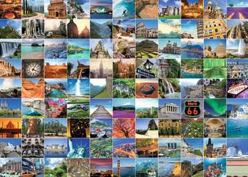 99 Beautiful Places on Earth, 1000pc Puzzles;Adult Puzzles - image 2 - Ravensburger