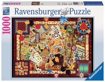 Vintage Games Jigsaw Puzzles;Adult Puzzles - image 1 - Ravensburger