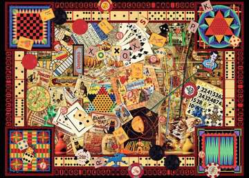 Vintage Games Jigsaw Puzzles;Adult Puzzles - image 2 - Ravensburger