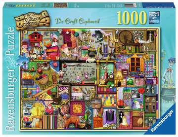 The Craft Cupboard Jigsaw Puzzles;Adult Puzzles - image 1 - Ravensburger