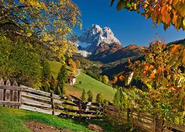 Mountains in Autumn Jigsaw Puzzles;Adult Puzzles - image 2 - Ravensburger