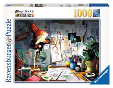 The Artist s Desk Jigsaw Puzzles;Adult Puzzles - image 1 - Ravensburger