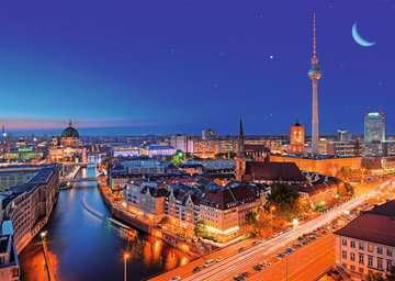 BERLIN NOCĄ 1000EL Puzzle;Puzzle dla dorosłych - Zdjęcie 2 - Ravensburger