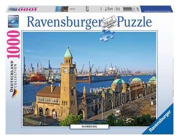 HAMBURG 1000EL Puzzle;Puzzle dla dorosłych - Zdjęcie 1 - Ravensburger