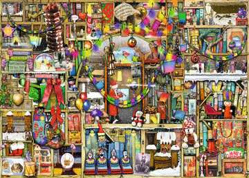 Colin Thompson: the christmas cupboard Puzzels;Puzzels voor volwassenen - image 2 - Ravensburger