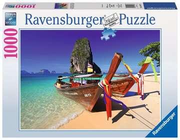 KARAIBSKA PLAŻA 1000 EL Puzzle;Puzzle dla dorosłych - Zdjęcie 1 - Ravensburger