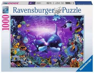 ORKI PODWODNY ŚWIAT 1000 EL Puzzle;Puzzle dla dorosłych - Zdjęcie 1 - Ravensburger