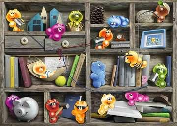 Gelini im Bücherregal Puzzle;Erwachsenenpuzzle - Bild 2 - Ravensburger