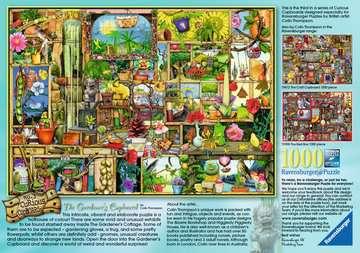 Colin Thompson, The Gardener s Cupboard, 1000pc Puslespil;Puslespil for voksne - Billede 2 - Ravensburger