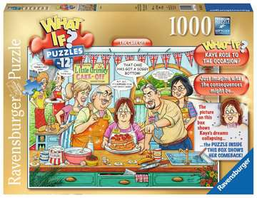 What If? The Cake Off, 1000pc Puzzles;Adult Puzzles - image 1 - Ravensburger