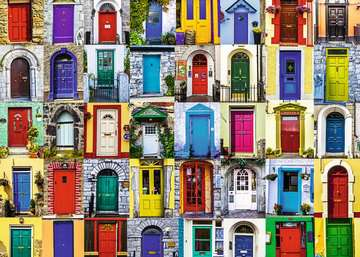 Doors of the World Jigsaw Puzzles;Adult Puzzles - image 2 - Ravensburger
