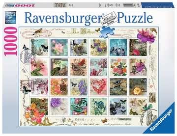 Vintage Postage Jigsaw Puzzles;Adult Puzzles - image 1 - Ravensburger