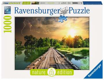 19538 Erwachsenenpuzzle Mystisches Licht von Ravensburger 1