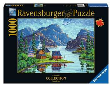 The Saguenay Fjord Jigsaw Puzzles;Adult Puzzles - image 1 - Ravensburger