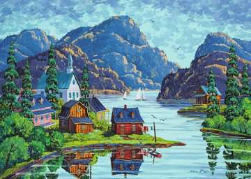 The Saguenay Fjord Jigsaw Puzzles;Adult Puzzles - image 2 - Ravensburger