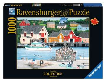 Fisherman s Cove Jigsaw Puzzles;Adult Puzzles - image 1 - Ravensburger