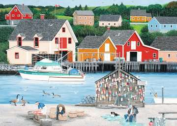 Fisherman s Cove Jigsaw Puzzles;Adult Puzzles - image 2 - Ravensburger