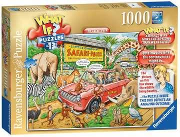 What If? The Safari Park, 1000pc Puzzles;Adult Puzzles - image 3 - Ravensburger
