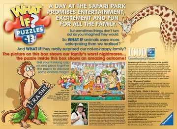 What If? The Safari Park, 1000pc Puzzles;Adult Puzzles - image 4 - Ravensburger