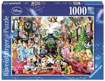 ŚWIĘTA Z RODZINĄ DISNEY 1000EL Puzzle;Puzzle dla dorosłych - Zdjęcie 1 - Ravensburger