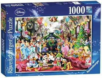 ŚWIĘTA Z RODZINĄ DISNEY 1000EL Puzzle;Puzzle dla dorosłych - Zdjęcie 2 - Ravensburger
