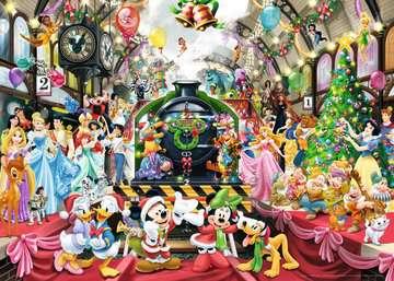 ŚWIĘTA Z RODZINĄ DISNEY 1000EL Puzzle;Puzzle dla dorosłych - Zdjęcie 3 - Ravensburger