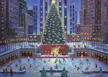 NYC Christmas Jigsaw Puzzles;Adult Puzzles - image 2 - Ravensburger