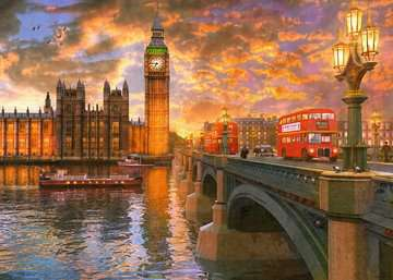 Westminster Sunset, 1000pc Puzzles;Adult Puzzles - image 2 - Ravensburger
