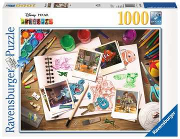 Disney-Pixar Sketches Jigsaw Puzzles;Adult Puzzles - image 1 - Ravensburger