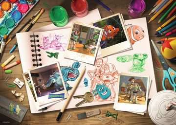 Disney-Pixar Sketches Jigsaw Puzzles;Adult Puzzles - image 2 - Ravensburger