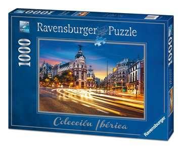 Gran Vía, Madrid Puzzles;Puzzle Adultos - imagen 1 - Ravensburger