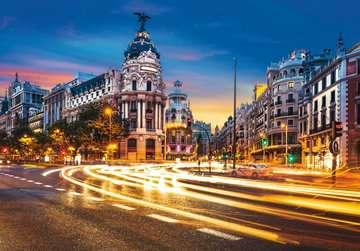 Gran Vía, Madrid Puzzles;Puzzle Adultos - imagen 2 - Ravensburger