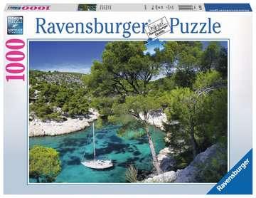 Playa fracesa Puzzles;Puzzle Adultos - imagen 1 - Ravensburger