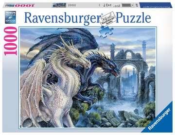 19638 Erwachsenenpuzzle Mystische Drachen von Ravensburger 1