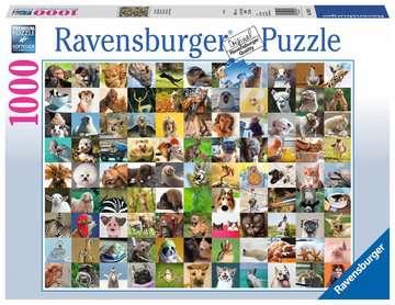 99 ZABAWNYCH ZWIERZĄT 1000EL Puzzle;Puzzle dla dorosłych - Zdjęcie 1 - Ravensburger