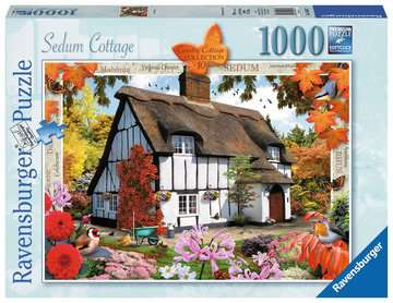 Country Cottage Collection - Sedum Cottage, 1000pc Puzzles;Adult Puzzles - image 1 - Ravensburger