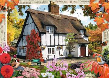 Country Cottage Collection - Sedum Cottage, 1000pc Puzzles;Adult Puzzles - image 2 - Ravensburger
