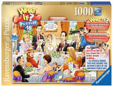 What If? The Wedding, 1000pc Puzzles;Adult Puzzles - image 1 - Ravensburger