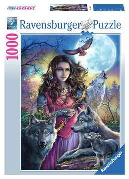 19664 Erwachsenenpuzzle Patronin der Wölfe von Ravensburger 1