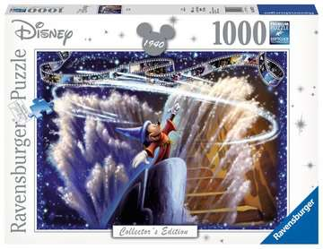 Disney Collector s Edition - Fantasia, 1000pc Puzzles;Adult Puzzles - image 1 - Ravensburger